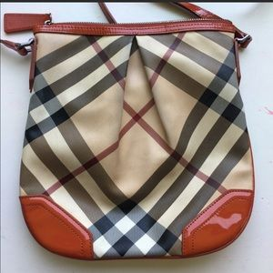 Authentic Burberry Novacheck Crossbody